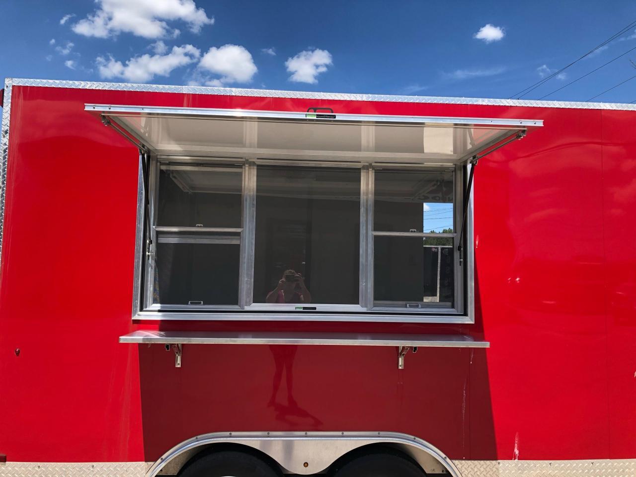 2020 Canadian Trailer Company 8.5x14 Flat Nose Cargo Trailer