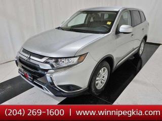 Used 2019 Mitsubishi Outlander ES **Apple Carplay*Htd Seats*R Cam*Bluetooth* for sale in Winnipeg, MB