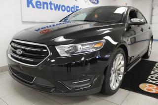 Used 2019 Ford Taurus 3 Mos Deferral! *oac | Limited AWD with NAV, sunroof, heated/cooled power leather seats, heated rear seats, heated steering wheel for sale in Edmonton, AB