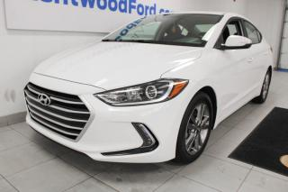 Used 2017 Hyundai Elantra 3 Mos Deferral! *oac | GL-heated seats-heated steering wheel-back up cam for sale in Edmonton, AB