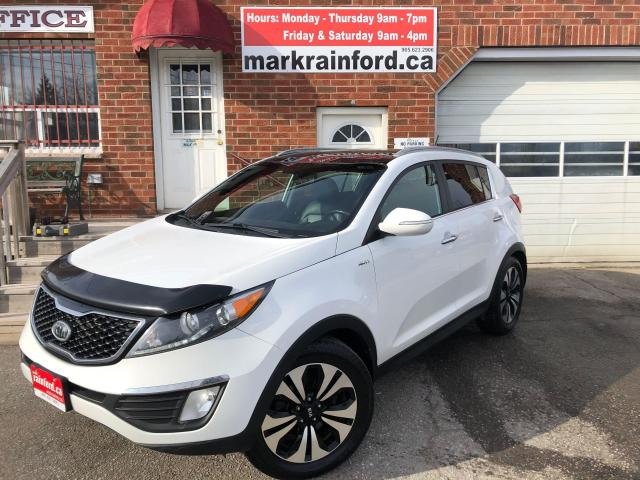 2012 Kia Sportage SX AWD 2.0 Litre Pano Roof Back Up Cam Bluetooth