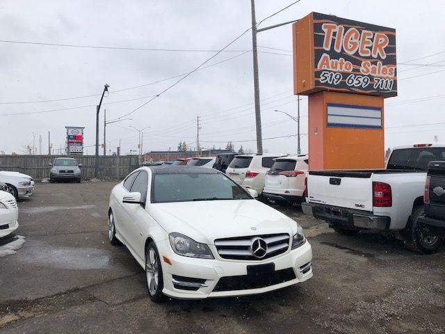 2012 Mercedes-Benz C-Class C 250**COUPE**AUTO**ONLY 106KMS**CERTIFIED
