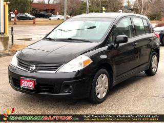 Used 2012 Nissan Versa 1.8 S|NO ACCIDENT|2YR WARRANTY|CERTIFIED for sale in Oakville, ON