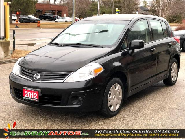 2012 Nissan Versa 1.8 S|NO ACCIDENT|2YR WARRANTY|CERTIFIED