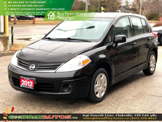 2012 Nissan Versa 1.8 S|NO ACCIDENT|EXT. 6 MONTH WARRANTY|CERTIFIED