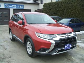 Used 2019 Mitsubishi Outlander ES , AWC, AWD for sale in Beaverton, ON