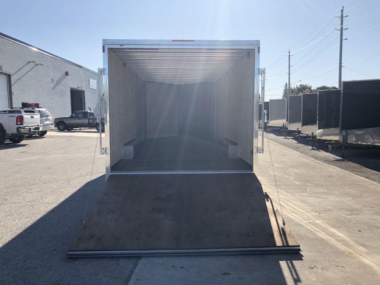 2020 Canadian Trailer Company 8.5x20 V-Nose Cargo Trailer