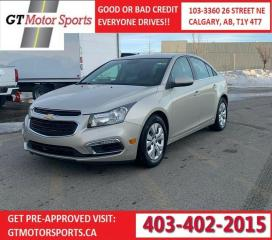 Used 2016 Chevrolet Cruze LT for sale in Calgary, AB