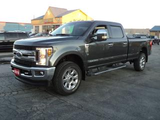Used 2018 Ford F-250 XLT CrewCab 4x4 6.7L PowerStrokeDiesel Nav 8ft Box for sale in Brantford, ON