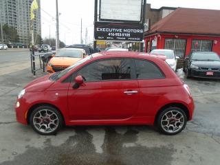 Used 2013 Fiat 500 Sport/ NEW BRAKES / CERTIFIED / CLEAN  / PWR GROUP for sale in Scarborough, ON