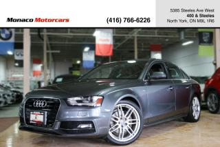 Used 2014 Audi A4 TECHNIK - S-LINE|B.SPOT|NAVI|BACKUP|BANG&OLUFSEN for sale in North York, ON