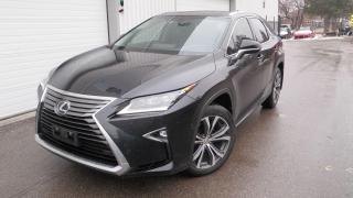Used 2016 Lexus RX 350 LUXURY NAV AWD for sale in Toronto, ON