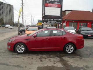 Used 2014 Kia Optima LX/ LOADED / SUNROOF/ CERTIFIED/HEATED SEATS/MINT for sale in Scarborough, ON