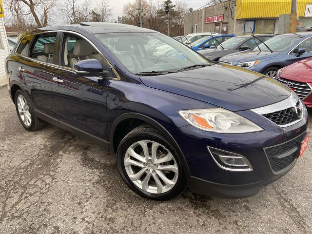 2012 Mazda CX-9 GT/ 7 SEATER/ AWD/ NAVI/ CAM/ LEATHER/ SUNROOF