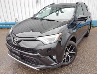 Used 2016 Toyota RAV4 SE AWD *LEATHER-SUNROOF* for sale in Kitchener, ON