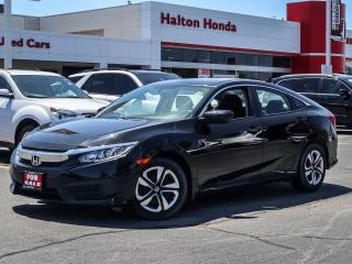 Used 2017 Honda Civic LX|SERVICE HISTORY ON FILE|ONE OWNER for sale in Burlington, ON