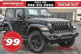 New 2020 Jeep Wrangler WILLYS EDITION | BACK UP CAM | HARDTOP | for sale in Hamilton, ON