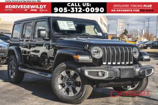 New 2020 Jeep Wrangler UNLIMITED SAHARA | DUAL TOP | NAV & SOUND GRP | for sale in Hamilton, ON