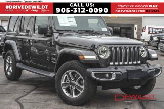 New 2020 Jeep Wrangler UNLIMITED SAHARA | REMOTE START | NAV & SOUND GRP for sale in Hamilton, ON