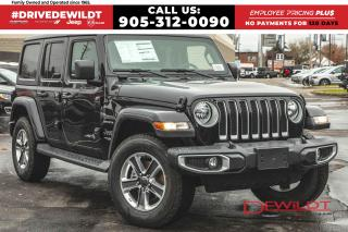 New 2020 Jeep Wrangler UNLIMITED SAHARA | DUAL TOPS | NAV & SOUND GROUP | for sale in Hamilton, ON
