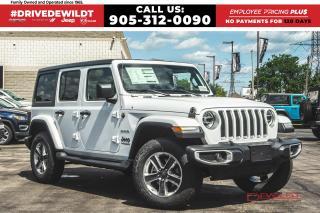 New 2020 Jeep Wrangler Unlimited Sahara | DUAL TOPS | NAV | LED LIGHTING for sale in Hamilton, ON