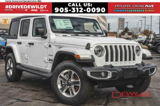 New 2020 Jeep Wrangler UNLIMITED SAHARA | LEATHER | NAV & SOUND | SAFETYT for sale in Hamilton, ON
