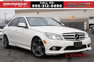 Used 2008 Mercedes-Benz C-Class BASE | LEATHER | SUNROOF | HEATED SEATS | for sale in Hamilton, ON
