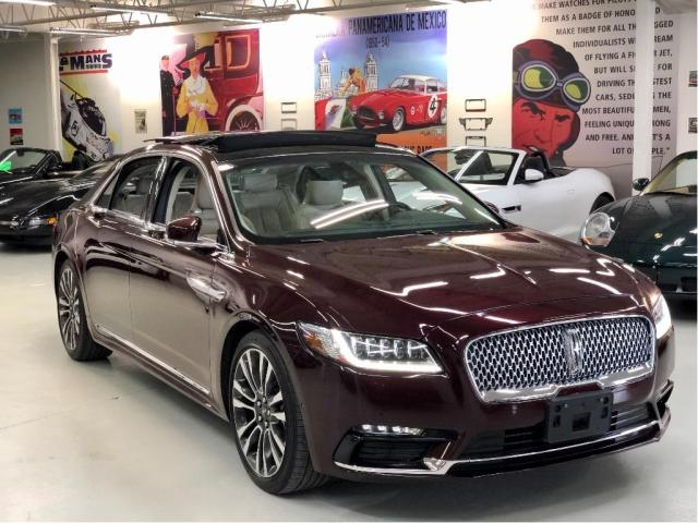 2017 Lincoln Continental Reserve with Luxury, Tech and Rear Seat Pkgs.