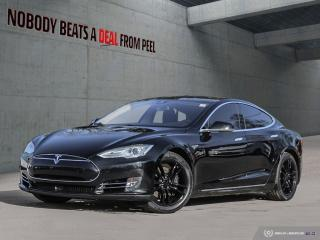 Used 2015 Tesla Model S 85D, Autopilot, Summon, NEW Tires, New Brakes, EV for sale in Mississauga, ON