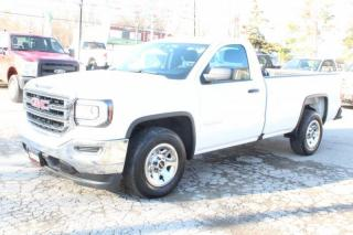 Used 2018 GMC Sierra 1500 Reg Cab 8FT LONG BOX 5.3L BACK CAMERA Bluetooth for sale in Mississauga, ON