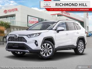 New 2020 Toyota RAV4 Limited  - Leather Seats -  Sunroof - $139.00 /Wk for sale in Richmond Hill, ON