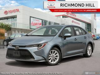 New 2020 Toyota Corolla LE Upgrade Package  - Sunroof - $76.18 /Wk for sale in Richmond Hill, ON