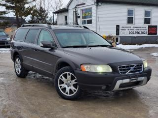 Used 2007 Volvo XC70 No Accidents 2.5T AWD Power Heated Leather Seats Sunroof for sale in Sutton, ON