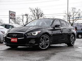 Used 2015 Infiniti Q50 AWD|360DegreeCAM|NAVIGATION|LEATHER|BLUETOOTH for sale in Stoney Creek, ON