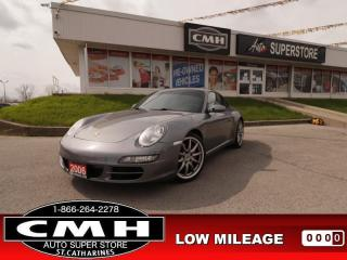 Used 2006 Porsche 911 355-HP MANUAL LEATHER AUTO-LIGHTS for sale in St. Catharines, ON
