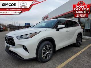 New 2020 Toyota Highlander XLE  - Power Moonroof -  Power Liftgate - $362 B/W for sale in Simcoe, ON