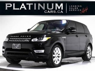 Used 2015 Land Rover Range Rover Sport HSE AWD, NAV, PANO, 360 CAM, HEATED & VENTILATED for sale in Toronto, ON