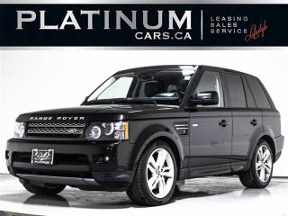 Used 2013 Land Rover Range Rover Sport SUPERCHARGED 510HP, V8, NAV, CAM, HEATED SEATS for sale in Toronto, ON