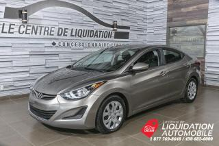 Used 2015 Hyundai Elantra GL+GR/ELEC+BLUETOOTH for sale in Laval, QC