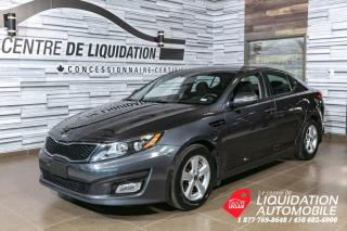 Used 2015 Kia Optima LX+GR ELECTRIQUE+AIR CLIM+MAGS for sale in Laval, QC