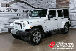 Used 2018 Jeep Wrangler Sahara+GR/ELECTR+BLUETOOTH for sale in Laval, QC