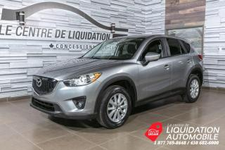 Used 2014 Mazda CX-5 GS+AWD+TOIT+MAGS+CAM/REC+BLUETOOTH for sale in Laval, QC