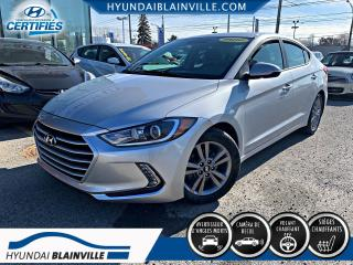 Used 2017 Hyundai Elantra GL, AUTO, VOLANT CHAUFFANT, ANGLES MORTS for sale in Blainville, QC