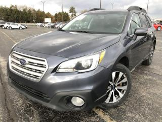 Used 2016 Subaru Outback LIMITED 3.6R AWD for sale in Cayuga, ON