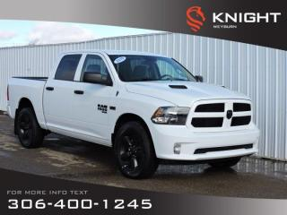New 2019 RAM 1500 Classic Express Blackout Crew Cab 4x4 | 5.7L HEMI V8 | Back-up Camera | Bluetooth | Towing Capable for sale in Weyburn, SK