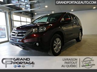 Used 2014 Honda CR-V AWD EX **Toit ouvrant**Mags**Bas kilomét for sale in Rivière-Du-Loup, QC
