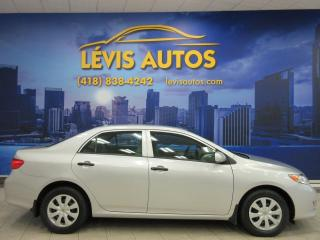 Used 2010 Toyota Corolla 5 VITESSE PNEUS HIVER SEULEMENT 121700 K for sale in Lévis, QC