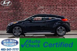 Used 2017 Hyundai Veloster Turbo Leather Roof Nav for sale in Red Deer, AB