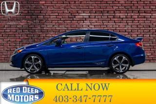 Used 2015 Honda Civic Si Manual Nav Roof BCam for sale in Red Deer, AB