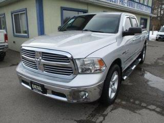 Used 2014 Dodge Ram 1500 GREAT KM'S SLT EDITION 5 PASSENGER 3.0L - ECO-DIESEL.. 4X4.. CREW-CAB.. SHORTY.. NAVIGATION.. BACK-UP CAMERA.. BLUETOOTH SYSTEM.. KEYLESS ENTRY.. for sale in Bradford, ON
